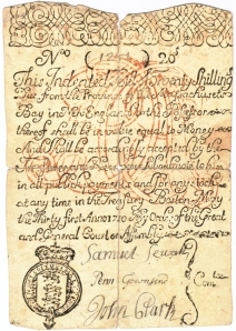 The second issuance of scrip by Massachusetts