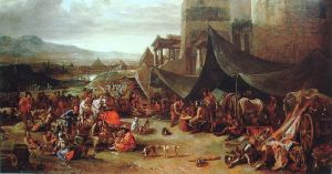 800px-Sack_of_Rome_of_1527_by_Johannes_Lingelbach_17th_century
